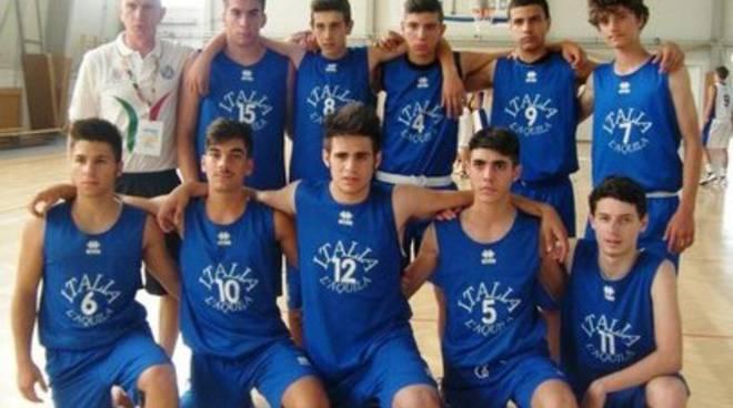 Basket aquilano, convocazioni in Nazionale giovanile