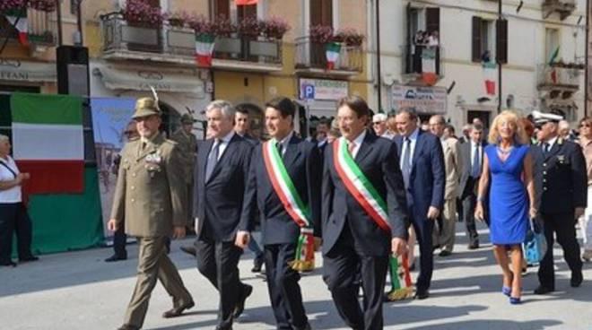 Il nono Reggimento Alpini cittadino onorario di Antrodoco