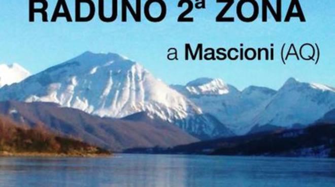Raduno alpini in riva al lago di Campotosto