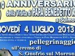 Sulmona, pellegrinaggio all'eremo di Sant'Onofrio