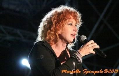 Fiorella Mannoia in concerto a L'Aquila [Foto]