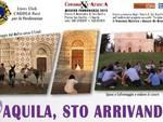 L'Aquila, Twitter dal monastero di San Basilio