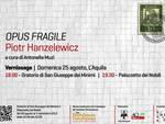 'Opus fragile' nel cuore del centro storico