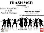 Perdonanza, Flash mob a Collemaggio