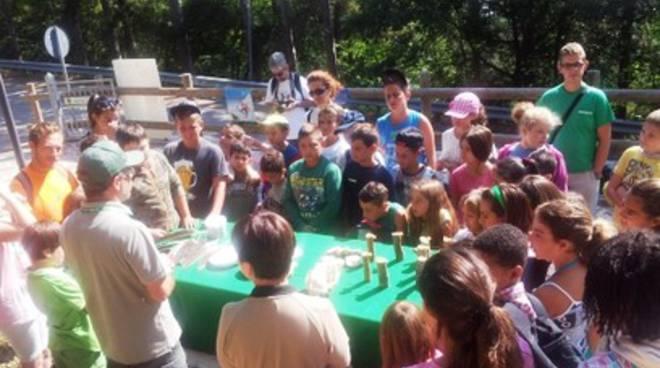 Riserva monte Salviano, a scuola di biodiversità