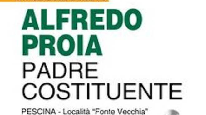 Pescina ricorda Alfredo Proia