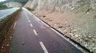 Aragno-San Giacomo, la strada 'raccogli pietre'