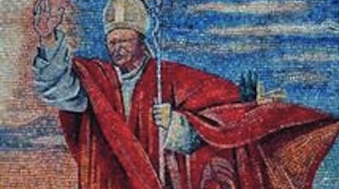 Mosaico dedicato a Wojtyla su Gran Sasso