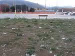 Piazza del mercato, slalom tra i rifiuti