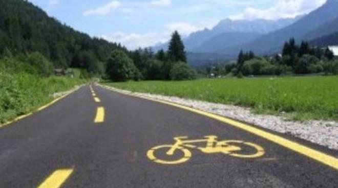 Progetto pista ciclabile, presentazione con il Panathlon