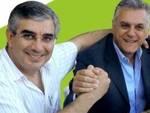 Regionali 2013, D'Alfonso e Monticelli (Luciano)
