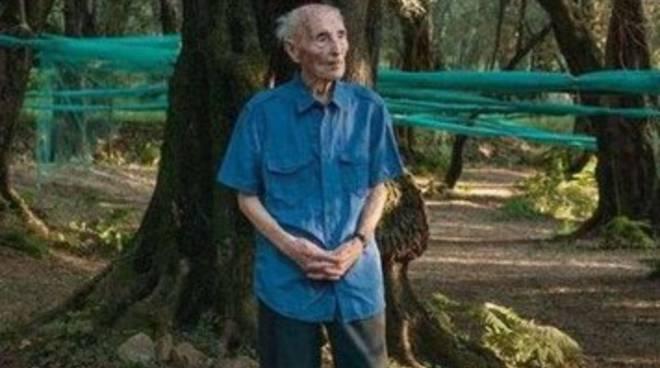 108 anni il nonnino più anziano d'Italia