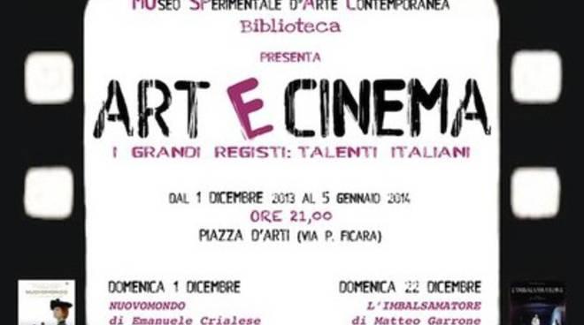 Art e Cinema, rassegna dedicata ai talenti italiani