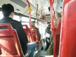In autobus al mercato e in centro