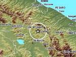 Due terremoti scuotono l'Umbria