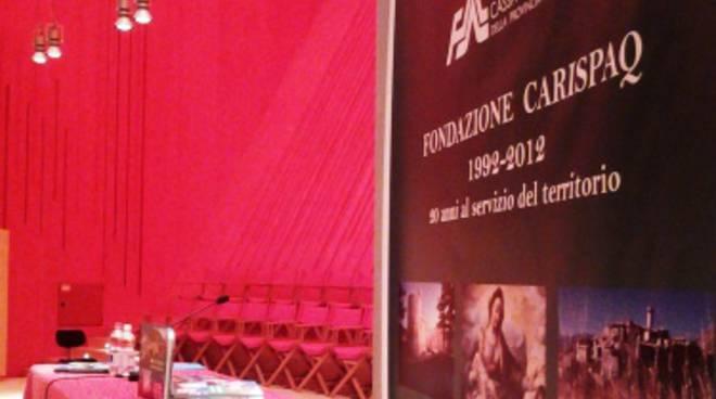 I vent'anni della Fondazione Carispaq