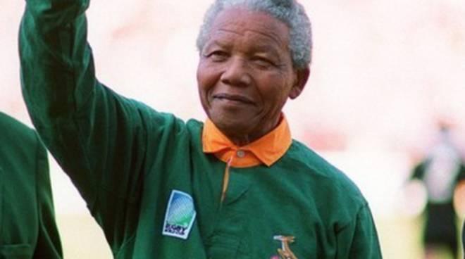 L'Aquila Rugby, «Addio a Nelson Mandela»