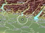 Scossa di terremoto a Brescia
