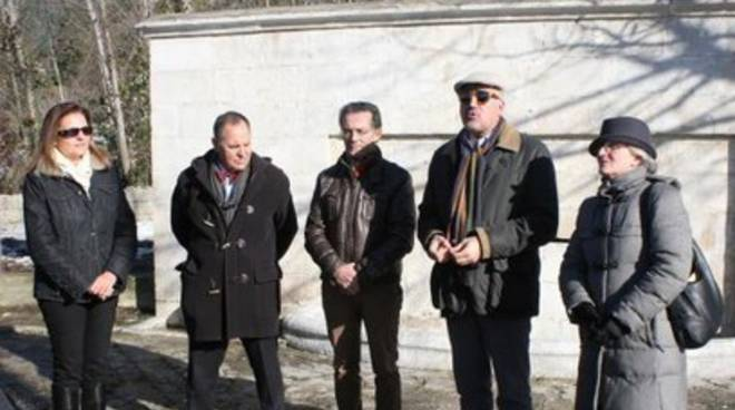 Sulmona, restaurata la fontana dell'amore
