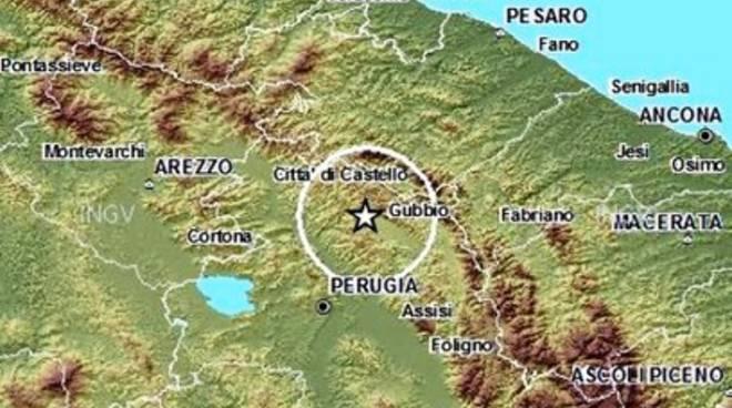 Ancora una scossa in Umbria