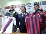 L'Aquila Calcio: presentati Pià e Libertazzi