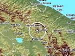 Scossa di terremoto in Umbria