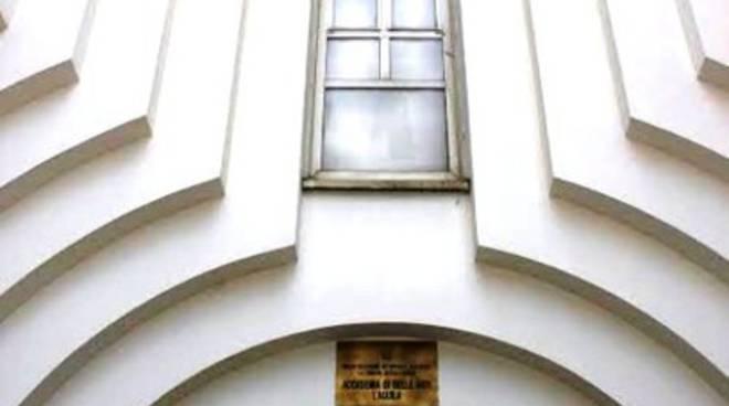 Accademia Belle Arti, inaugurazione con Spalletti