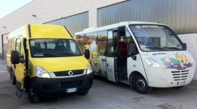 Autobus a metano nel Comune dell'Aquila