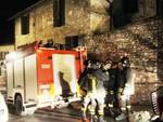 Abitazione a fuoco, 40 minuti dopo i soccorsi