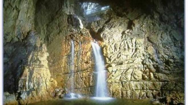 Grotte di Stiffe, stazione del treno del Turismo