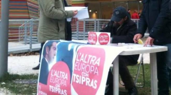'L'Altra Europa con Tsipras', gli appuntamenti aquilani