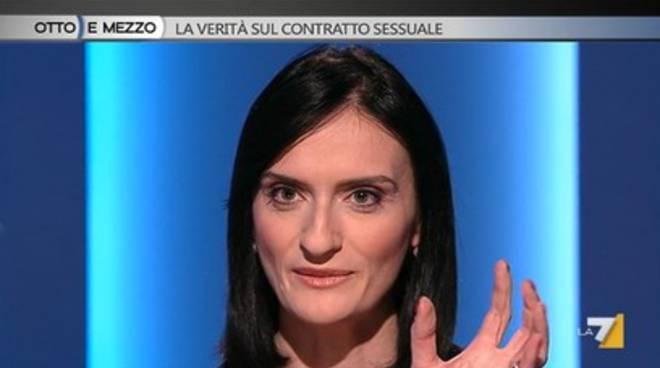 Lucia Zingariello da Lilli Gruber