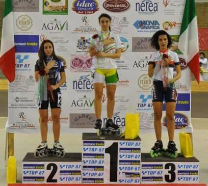 Oro per Chiara Luciani