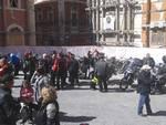 150 Vigili del Fuoco a L'Aquila in moto