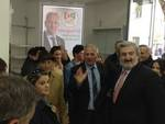 Emiliano inaugura il Comitato di Di Pangrazio