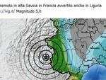 Sisma Francia, scossa avvertita anche in Liguria