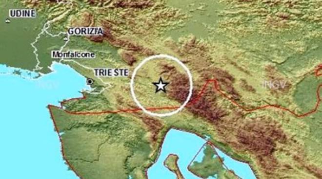 Terremoto, scossa 4.7 in Slovenia
