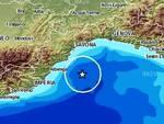 Terremoto, scossa in Liguria