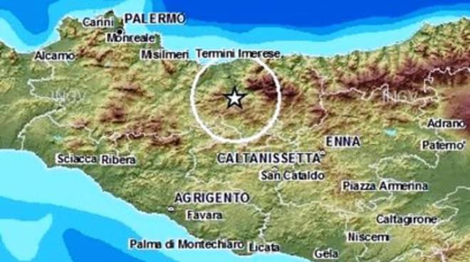 Terremoto, scossa in Sicilia