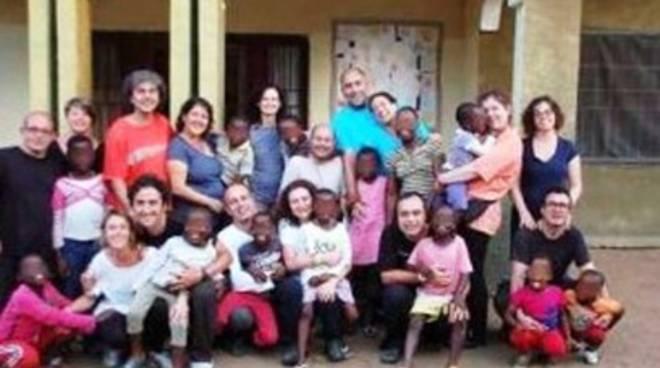 Arrivati i bimbi dal Congo, gioia anche a L'Aquila