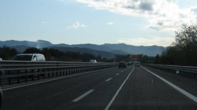 Incidente sull'A24