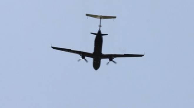 Primo volo Twin Jet, andata e ritorno fra le nuvole