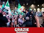 Renzi vola al 40,84 %, stop di Grillo al 21,15 %