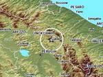 Terremoto, scossa in Umbria
