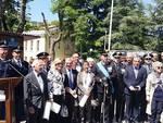 Cerimonia di commemorazione a L'Aquila