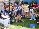 I bimbi aquilani incontrano la 'Polizia degli Animali'