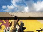 Murales ovidiani sulle cabine Enel