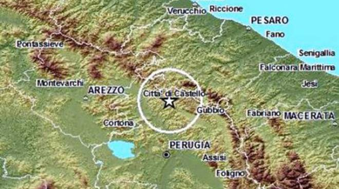 Terremoto 3.2 in Umbria