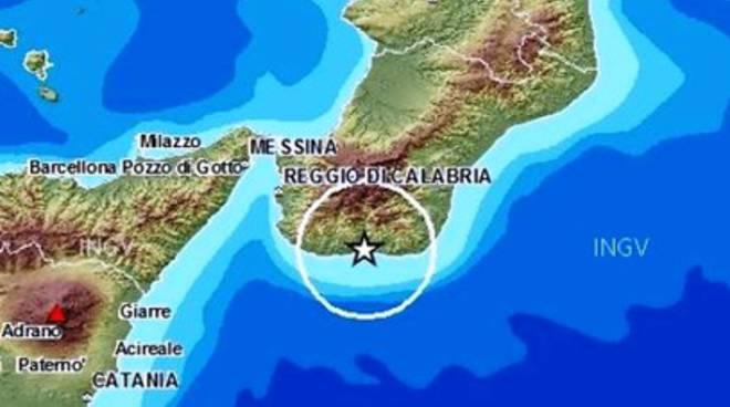 Terremoto, scossa 3.5 a Reggio Calabria