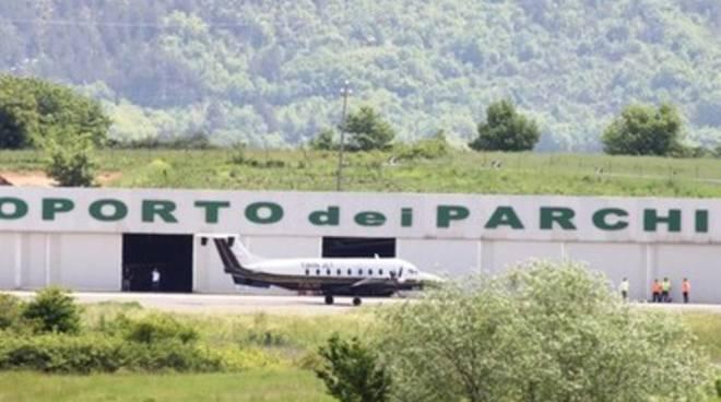 Aeroporto dei Parchi, rinviata esercitazione Gdf